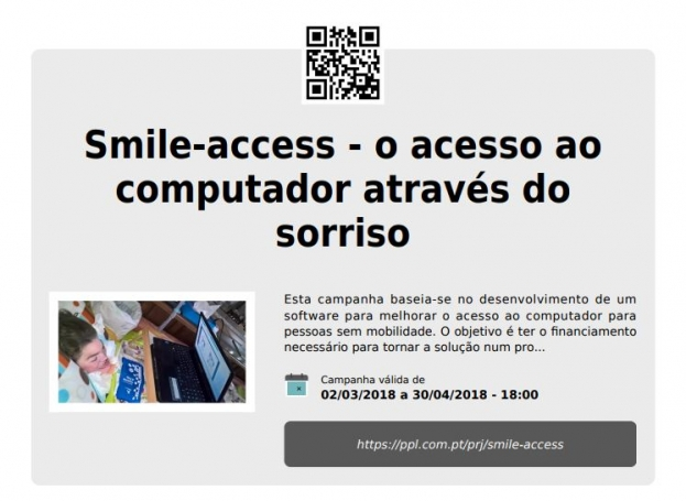 Smile-Access: Crowdfunding para financiar software